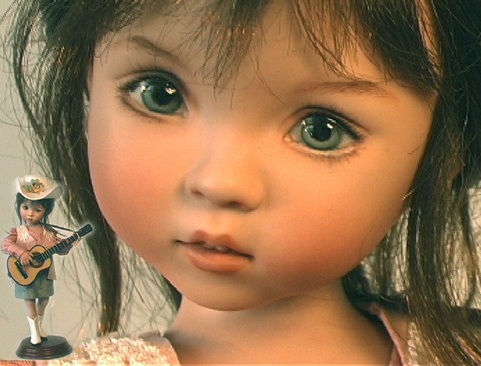 Little Bit Country Is A Porcelain Studio Doll That Was Produced In The Studios Of Team Members Dreamers Guild She
